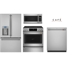 Cafe Kitchen package with counter  depth Refrigerator