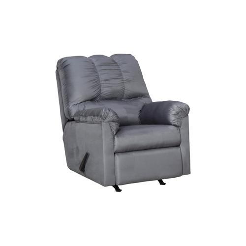 Ashley Furniture - Darcy Steel Sofa, Loveseat & Recliner