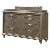 See Details - Cristal 8 Drawer Dresser