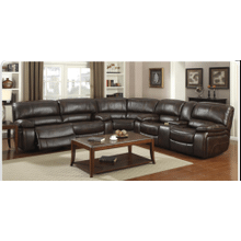 KADE SECTIONAL LEATHER MOTION
