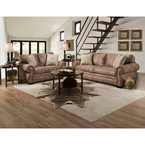 Corinthian Furniture - Rodeo Saddle Sofa & Loveseat