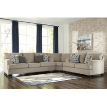 Dorsten Sisal Collection Sectional Sofa
