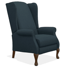 Kimberly High Leg Reclining Chair   *color not exact  (28-916-B166387,40028)