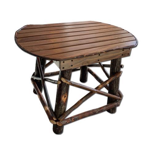 Amish Walnut End Table