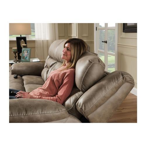 Mia Home Power Reclining Sofa, Color: Badlands Mushroom