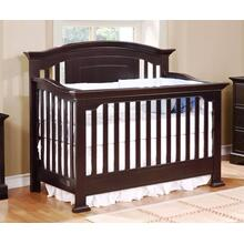Jordan 4 in 1 Convertible Crib Dark Espresso