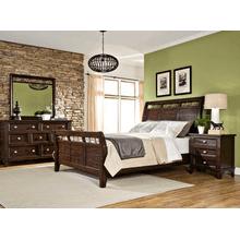 Hayden Queen Sleigh Bed