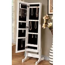 See Details - White Jewelry Mirror
