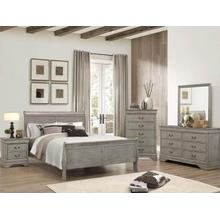 Rustic Grey Louis Phillip 7pc. Queen Set