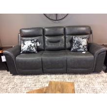 V Reclining Sofa 90x38x41 Gray 195LV Bullard