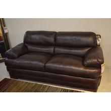 Leather Flexsteel Sofa.