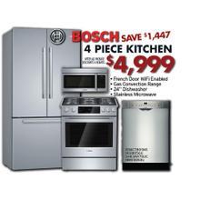 Bosch 4 Piece Kitchen Package