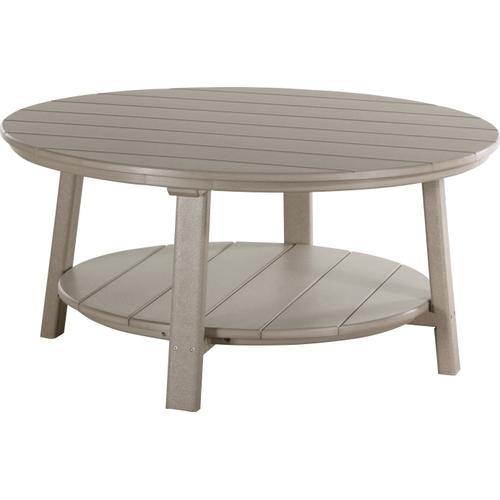 Deluxe Conversation Table Weatherwood