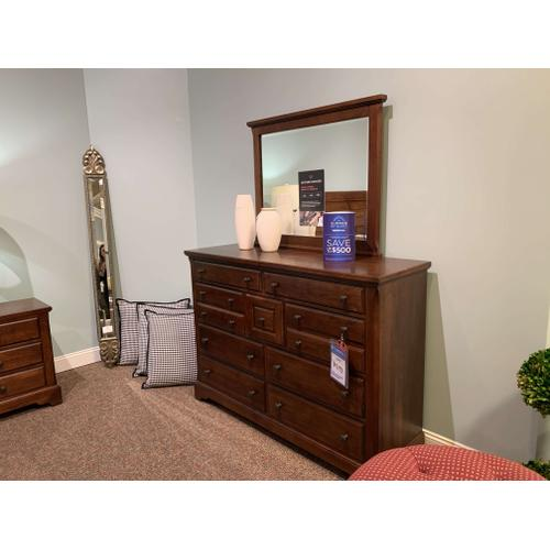 King Cherry Sleigh Bedroom Set