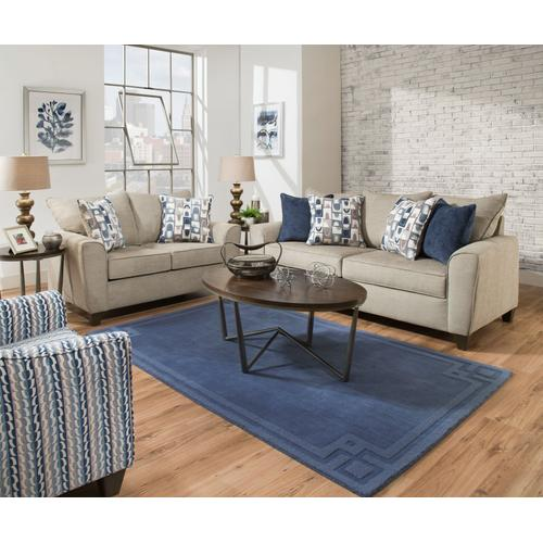9095 Advance Grey Sofa and Loveseat