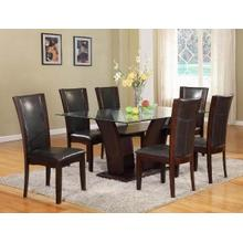 See Details - Crown Mark 1210 Camelia Dining Group