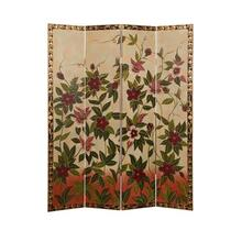 Sweet Nectars 4 Panel Room Divider