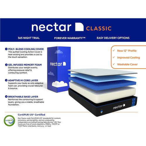 Nectar 3.0 Classic - King Mattress