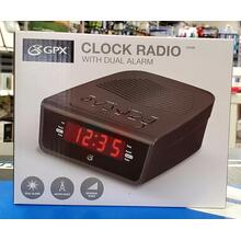 Clock Radio With Dual Alarm