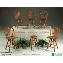 See Details - Classic American Oak Collection Stools: 0124 0624 0724 0824 0924 1024