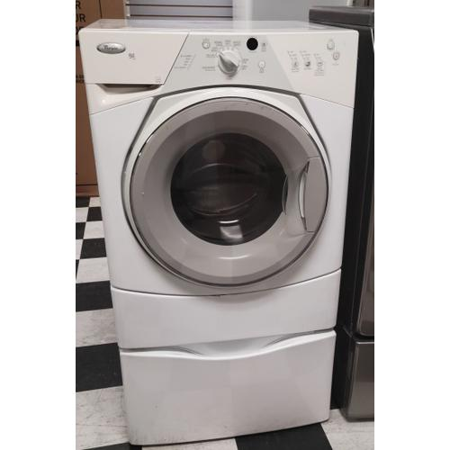 Whirlpool - White w/ Gray Accents 3.4 cu. ft. Capacity (I.E.C.) ENERGY STAR® Qualified Duet Sport® Washer
