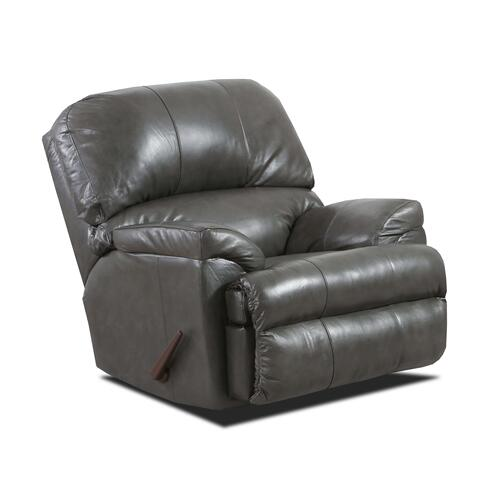 Lane Home Furnishings - LANE 2038-4010-19R Soft Touch Leather Fog Recliner