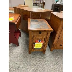 Amish Craftsman - small tile top end table