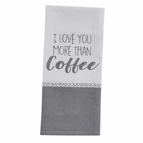 I Love Coffee Dishtowel