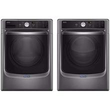 Maytag Front Load Laundry Package With Electric Dryer In Metallic Slate