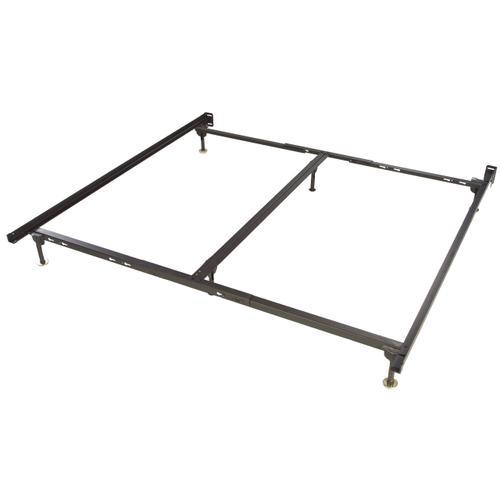 Glideaway Steel Bedframe King Size w/ Spin Glides