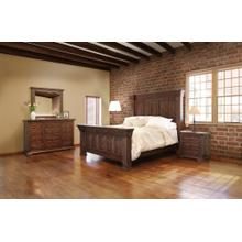 Terra IFD1020 Chocolate 6pc King Bedroom Set