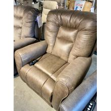 Passion Taupe Lay Flat Power Lift Chair
