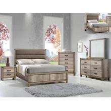 Matteo Tw Bed, Dresser, Mirror, Chest and Nightstand