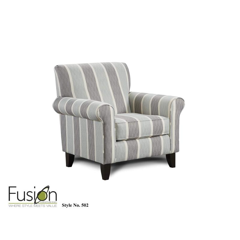 Lifes a Beach Mist Accent Chair