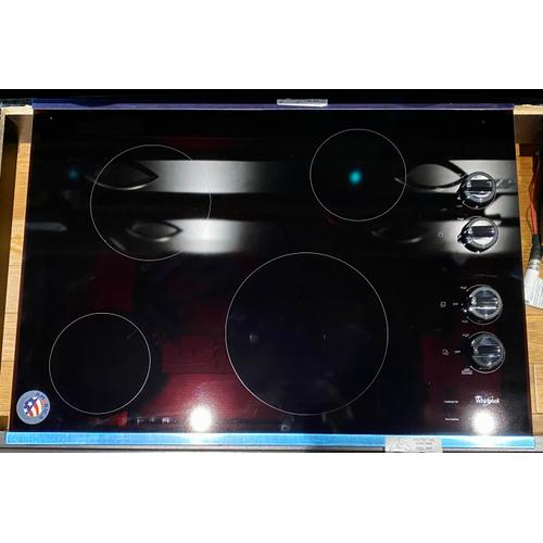 Whirlpool W5CE3024XS   30-inch Electric Ceramic Glass Cooktop
