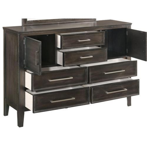New Classic Furniture - Andover Dresser in Nutmeg Finish
