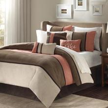 See Details - Palisades 7 piece Comforter Set - King