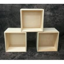 Maine Made Single Cube 14.5W X 14.5H X 11.25D Pine Unfinished