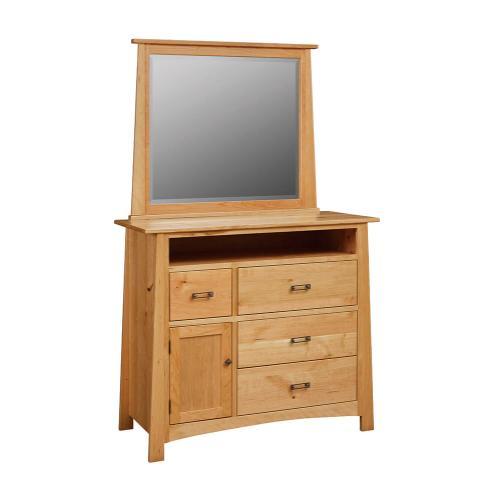 Craftmen - Media Dresser w/ Mirror