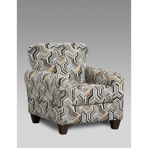 9001 Zucchini Ebony Accent Chair