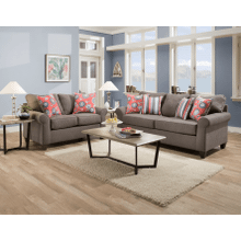 View Product - Sofa and Loveseat - Cement Beachfront