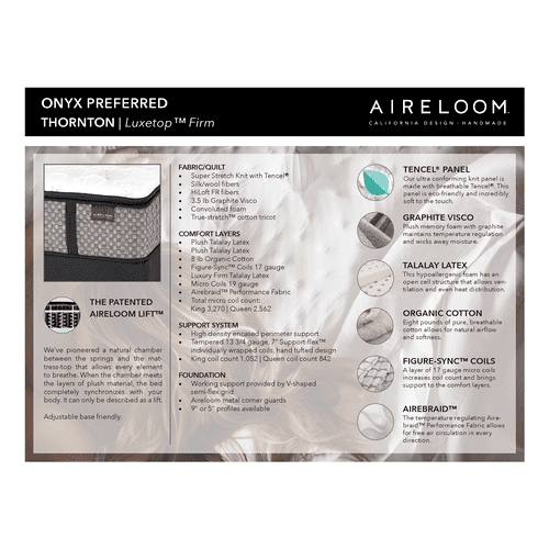 Aireloom - Lurury Top Firm M2 Plus
