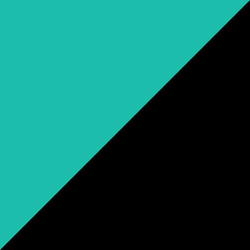 Adirondack Swing 5' Aruba Blue and Black