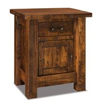 Houston 1 drawer, 1 door nightstand