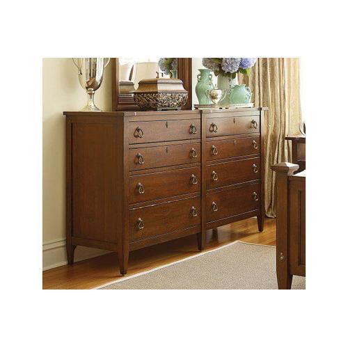 American Drew - 1004 Queen Bed, Dresser, Mirror, Chest, and Nightstand