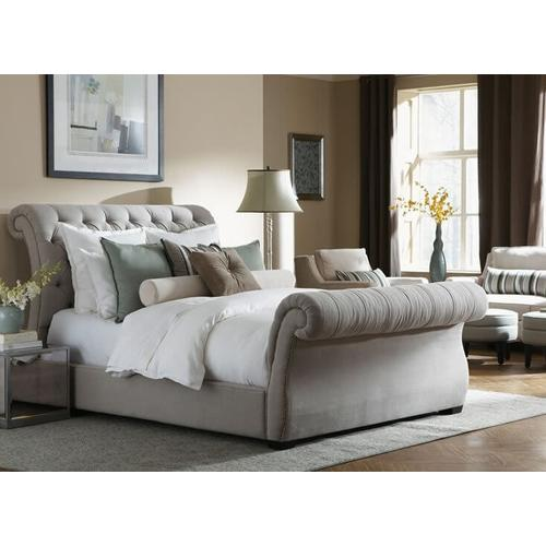 Malena Sleigh Bed