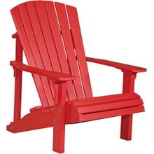 Deluxe Adirondack Chair Red