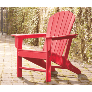 Sundown Treasure Adirondack Chair Red