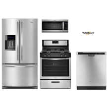 Whirlpool Package with French Door Refrigerator