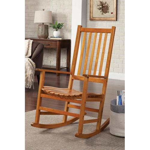 CLEARANCE Slat Back Rocking Chair